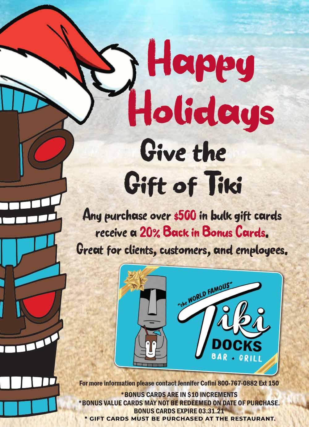 tiki-docks-holiday-gift-card-promo-2020